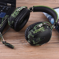 Gaming Headphone Aviation Stereo Gaming Headset For PS4 PS3 Xbox One Xbox 360 PC IPhone Over