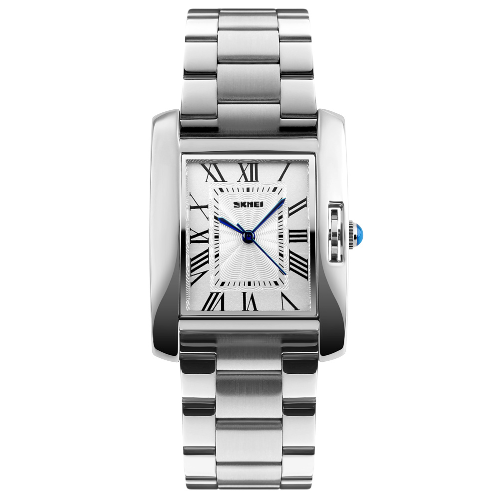SKMEI Luxury Brand Quartz Watch Waterproof Women Watch Full Steel Fashion Ladies Women Wristwatches Relogio Feminino 1284