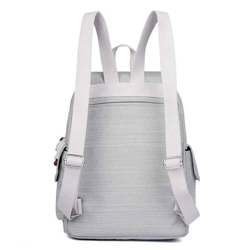 Décontracté Original femmes sacs pour femmes sacs à dos sacoche pour ordinateurs portable pour adolescentes mochila feminina avec singe porte-clés - 3