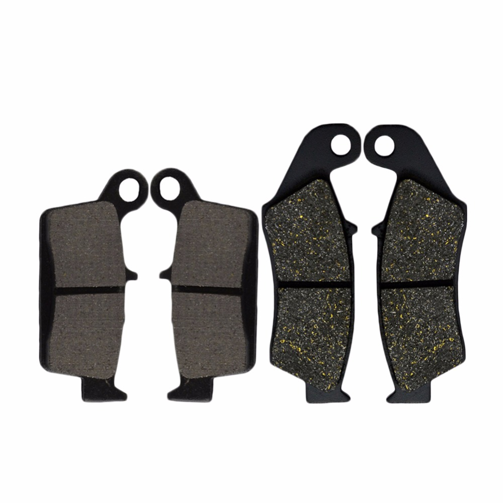 Motorcycle Front and Rear Brake Pads For Kawasaki KX125 KX 125 1995-2008 KLX250 D-Tracker 1998-2003 KLX250 2006-2007