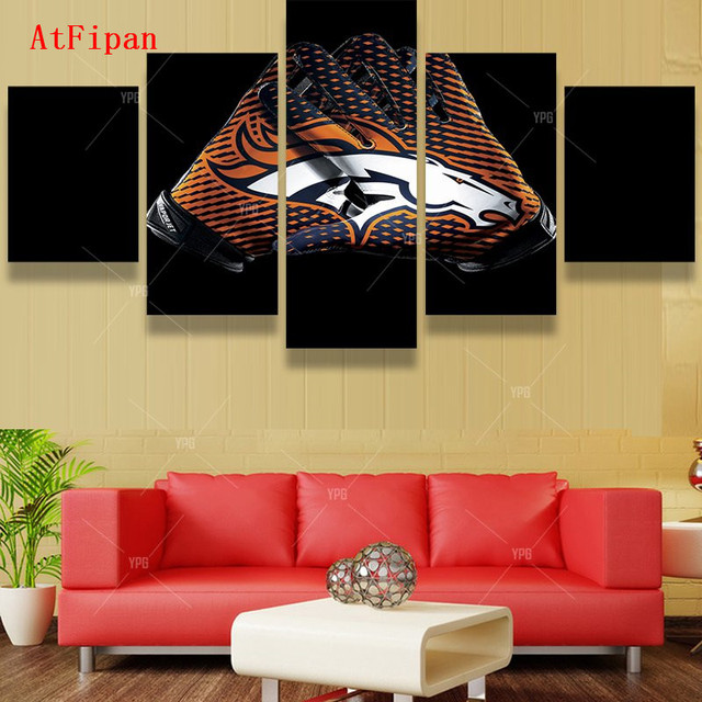 AtFipan Wall Pictures For Living Room Denver Broncos Brand Designed ...