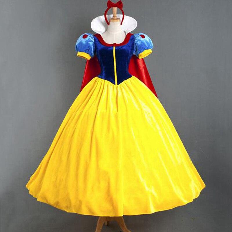Halloween Albă de zăpadă Îmbrăcăminte lungă Masquerade - Costume carnaval