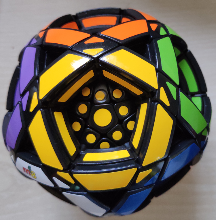 MF8 Multi Dodecahedron Ball Cube Puzzle Black Cubo Magico Educational Toy Gift Idea