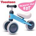 Crianças Da Marca HOT Motos Equilíbrio Scooters Andador Infantil 1-3years Scooter sem Pé Pedal Bicicleta de Condução de Presente para Criança