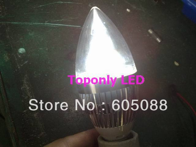 e14 3w font b led b font candle lamp bulb with isolated power supply ac85 265v