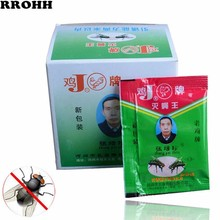 цена на 50pcs/lot Effective Fast Kill flies medicine Pest control Very medicine very clear Fly medicine powder fly killing bait For Home