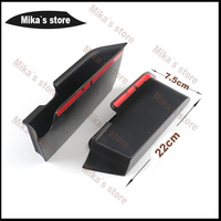 High Quality Car Styling ABS For Mini Cooper F56 Armrest Box Storage Car Styling 1 Pair