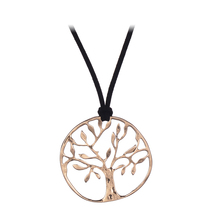 Gros Collier Plastron Femme 2017 Rope Chain Necklace Gold Silver Color Life Tree Long Pendant Necklace
