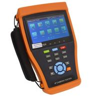 IP Camera Tester IPC4300 with 4.3'' Screen Support Onvif PTZ Control SDI Signal Test TDR Cable Test Digital Multi Meter etc.