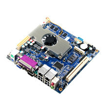 In Stock !!! motherboard mini itx  atom pc motherboard with fan with Intel Atom D2550+NM10 express chipset