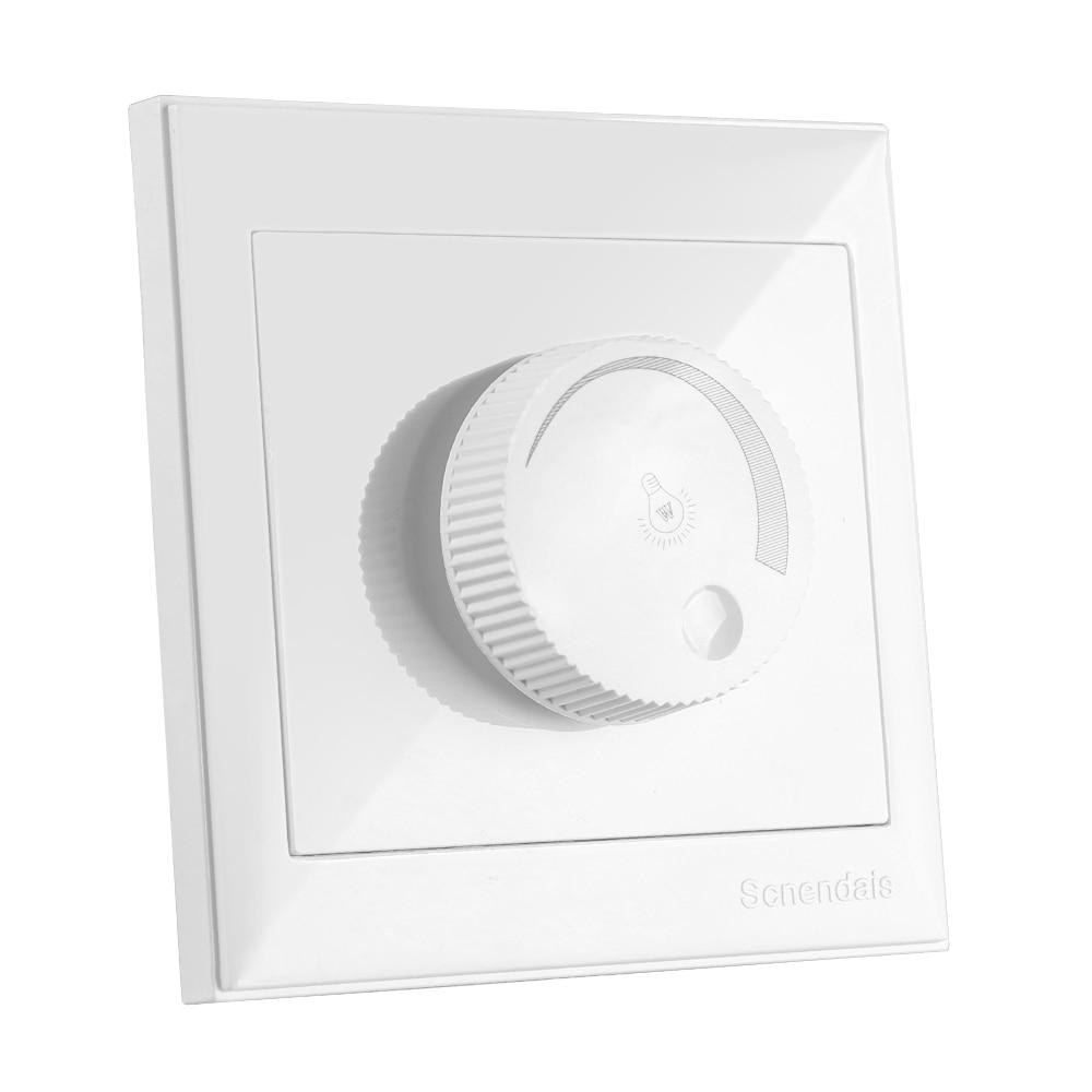 LED SCR dimmer interruptor de parede 300 W 600 W 1000 W AC220V LEVOU Escurecimento Controlador Para Regulável luz de Teto Downlight holofotes