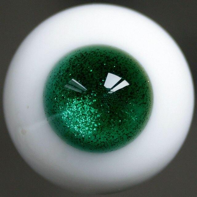 [Wamami] E16 #18 мм мигать зеленые Глаза Для MSD AOD DOD BJD Dollfie Стеклянные Глаза Снаряжение