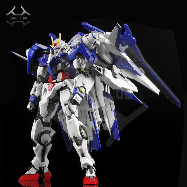 COMIC CLUB IN Stock Metalgearmodels โลหะสร้าง MB GUNDAM OO raiser XN OOR XN Trans AM ระบบสี action FIGURE