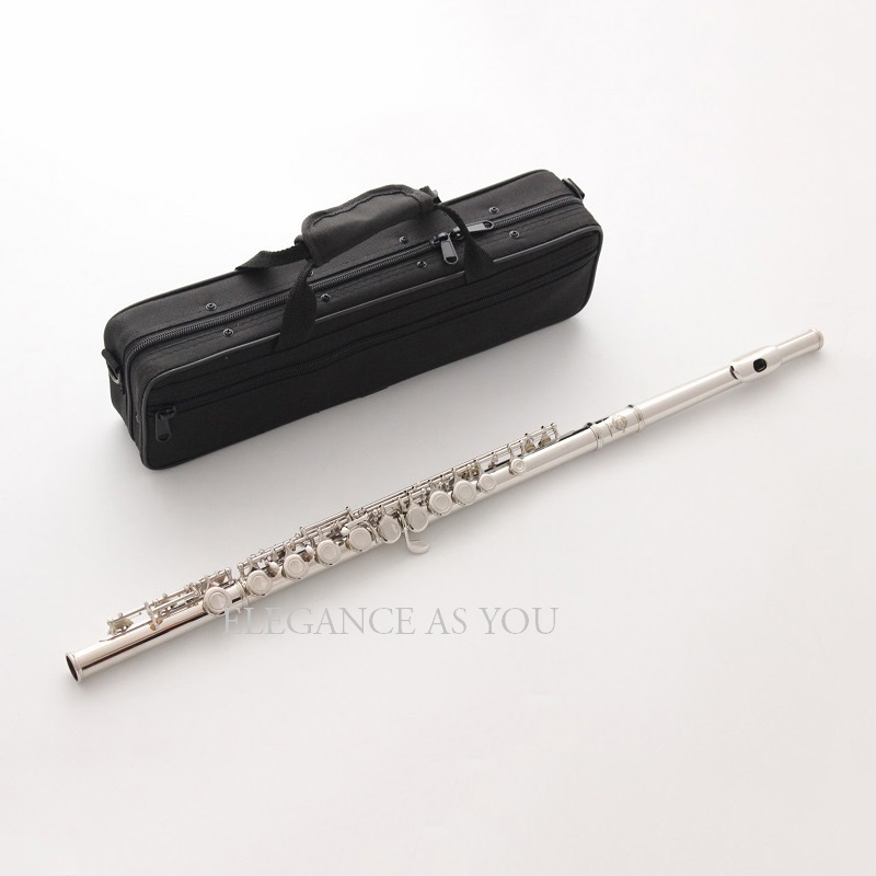 Free shipping Beginner performance famous 16 hole C flute professional playing closed-ho ...
