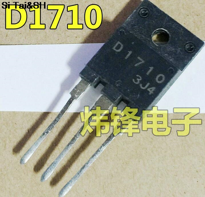 1pcs/lot D1710 2SD1710 TO-3PF