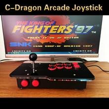 Rocker arcade joystick USB PC computer led KOF Street Fighter arcade stick 97 rockero juego de ordenador de arcade junta envío gratis