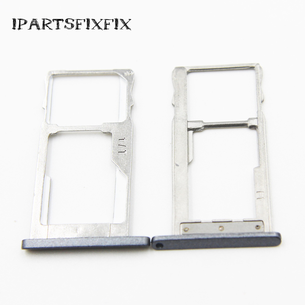 SIM Card Tray Slot Holder Adapters For Meizu M2 Note M2Note MeiLan Note2 Replacement Parts Repair High Quality Cheap Accessories