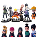 1pc/lot Naruto Figures 11 Styles Anime Kakashi/Itachi/Sanri/Hinata/Shikamaru/Thitara Action Figure Toys PVC Collections 12cm