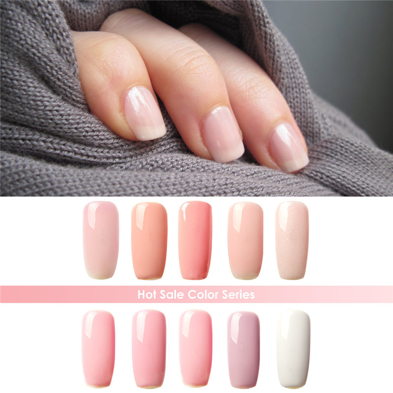Nude Color Series Color UV Builder Gel UV Gel Acrylic for Nail Art ...