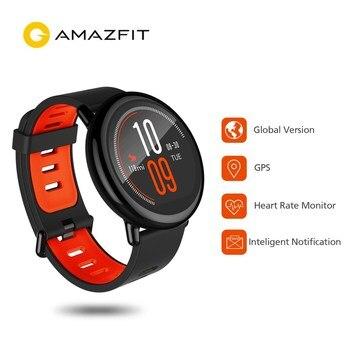 Xiaomi Huami Watch AMAZFIT Pace Sports Smartwatch BT4.0 Heart Rate Monitor GPS Pedometer Smart Watch International Version