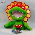 """Super Mario Brothers 7 """"Sluggers Пити Пиранья Плюшевые Игрушки мягкие Чучела Животных куклы с тегом детские игрушки"""