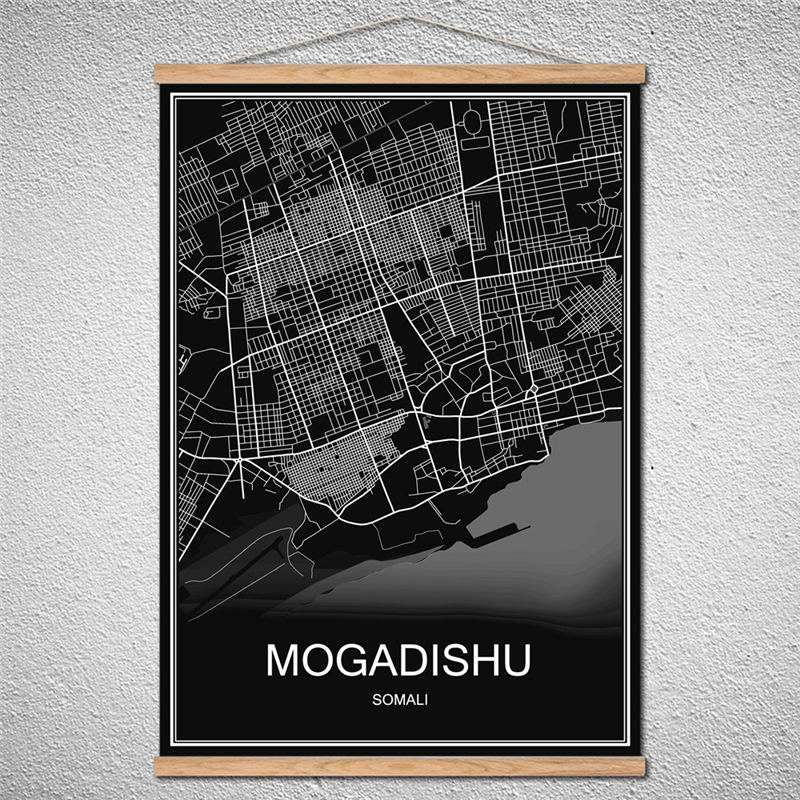 Milan world city map poster oil painting canvas abstract print milan world city map poster oil painting canvas abstract print picture cafe bar decor can customized scroll drawings with frame in wall stickers from home gumiabroncs Choice Image
