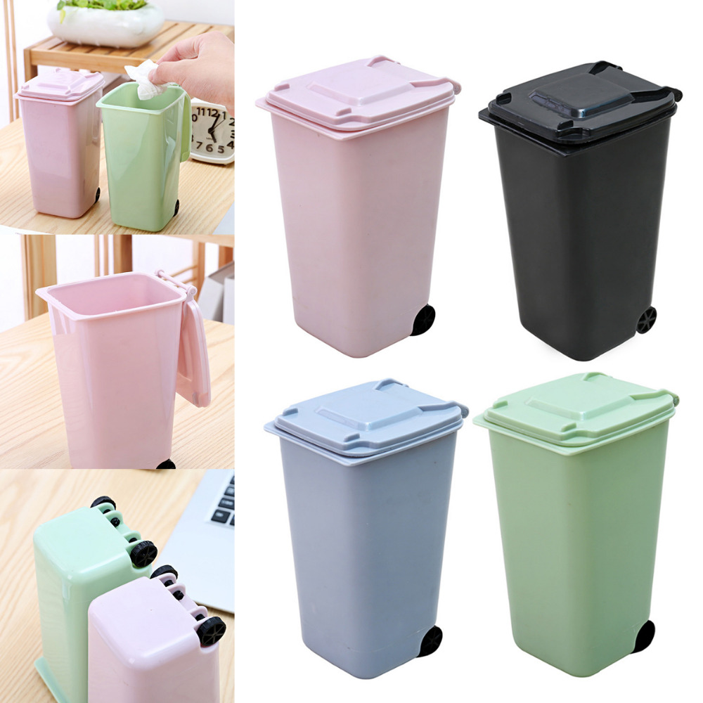Household Laundry Supplies Portable Small Waste Bin Desk Table Garbage Organizer Home Office Trash Can Mini Kisetsu System Co Jp