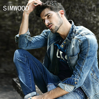 2015 New Denim Jacket Men Outerwear Long Sleeve Vintage Mens Jacket And Coats Spring Autumn Winter