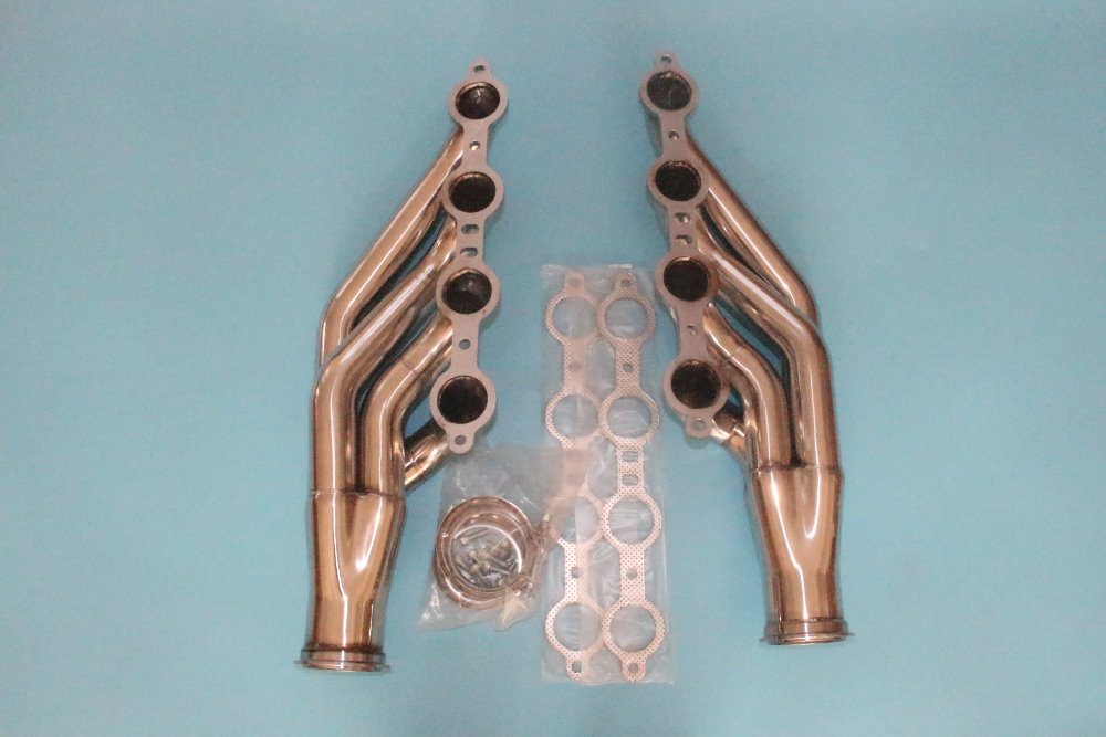 Exhaust Manifold Header For Chevy 97-14 Small Block V8 Ls1/ls2/ls3/ls4/ls6/lsx Bracing Up The Whole System And Strengthening It