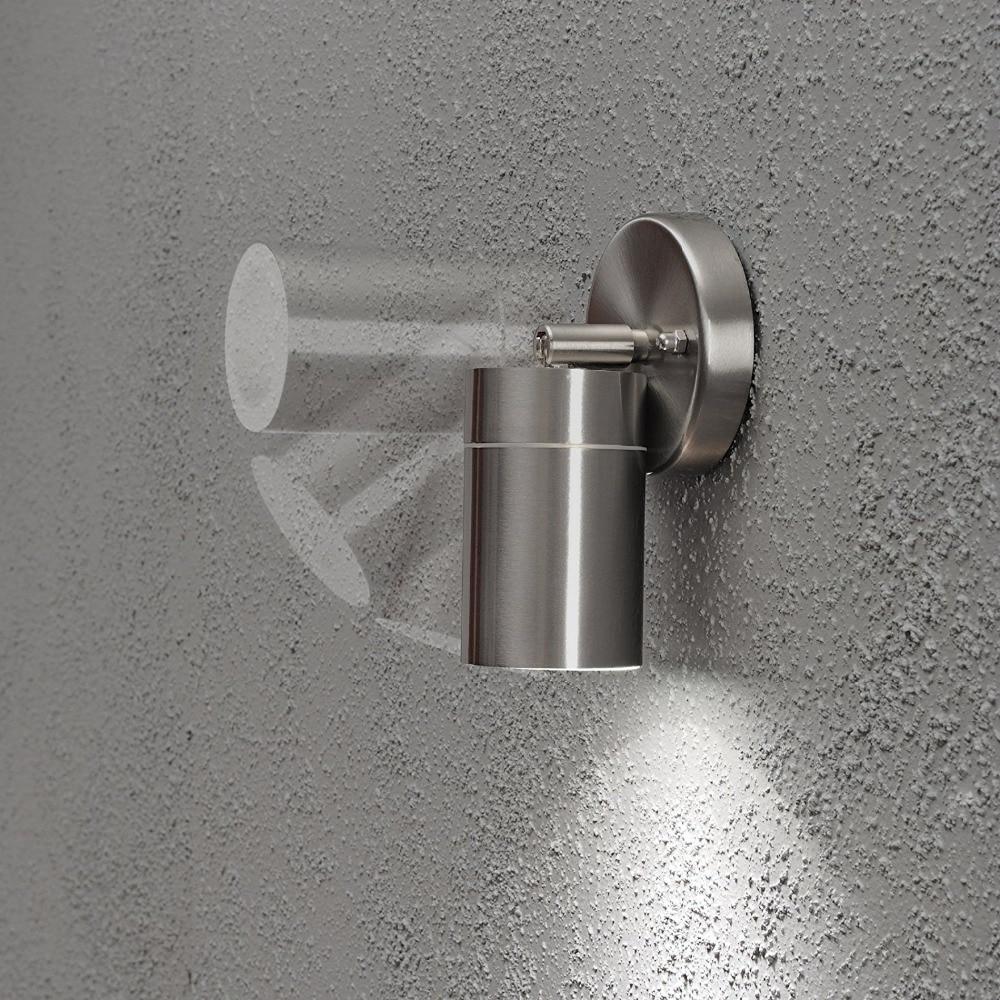 Gu10 luz conduzida da parede à prova d' água 35 W luzes da decoração de natal, casa moderna decoração de iluminação para o jardim, quarto, sala de estar
