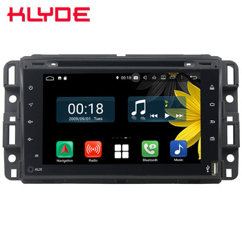 Octa Core 4G Android 8.1 4GB RAM 64GB ROM USB AUX Car DVD Player Stereo Radio For GMC Sierra Yukon Savana Denali/Buick Enclave