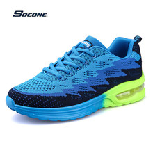 New Increase Adult Unisex Cushioned Casual Shoes Men Mixed-color Non-Slip Trainers Thickening Bottom Sport Deportivas Hombre