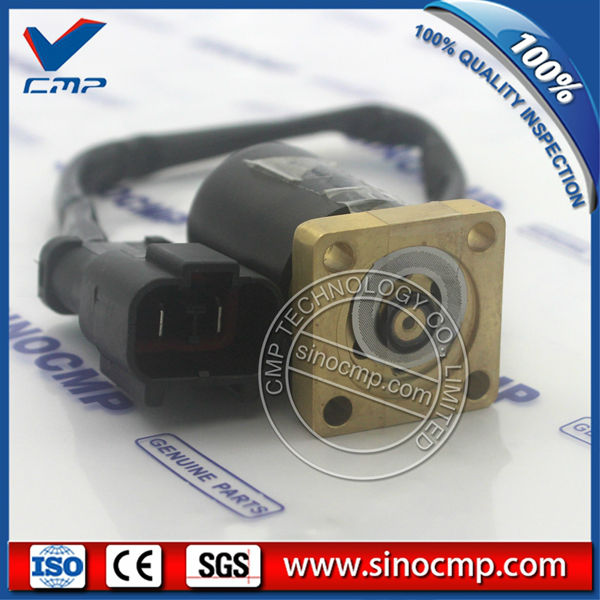 US $128 0 |Solenoid Valve 714 10 16951 For Komatsu Wheel Loader WA100 3  WA120 3 WA200 3-in A/C Compressor & Clutch from Automobiles & Motorcycles  on