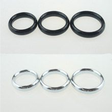 Glans Ring Stainless Steel Colorful Aluminum Alloy