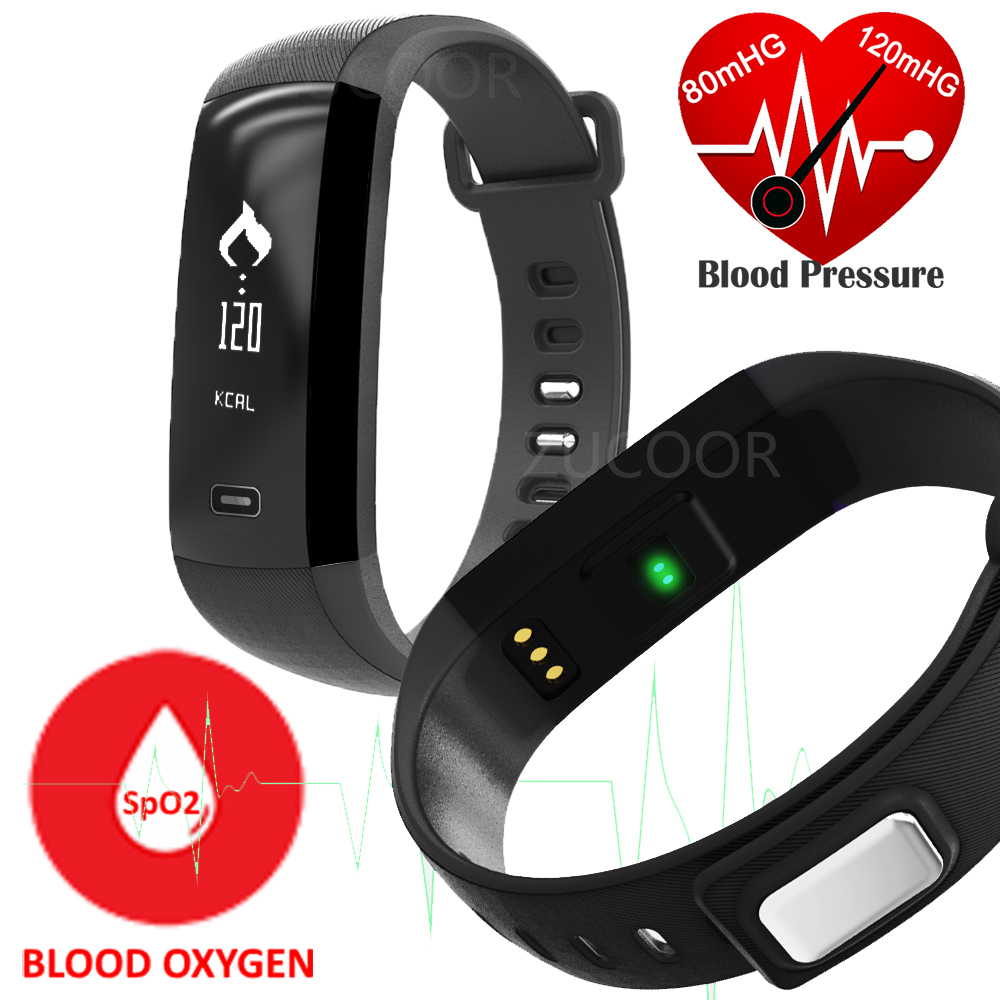 Original M2 font b Smart b font Band Heartrate Blood Pressure Oxygen Oximeter Sport Bracelet Clock