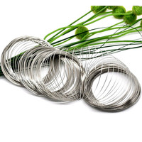 1000 Loops Free Shipping Wholesale Hot New DIY Memory Beading Steel Wire For Bracelets Jewelry Making