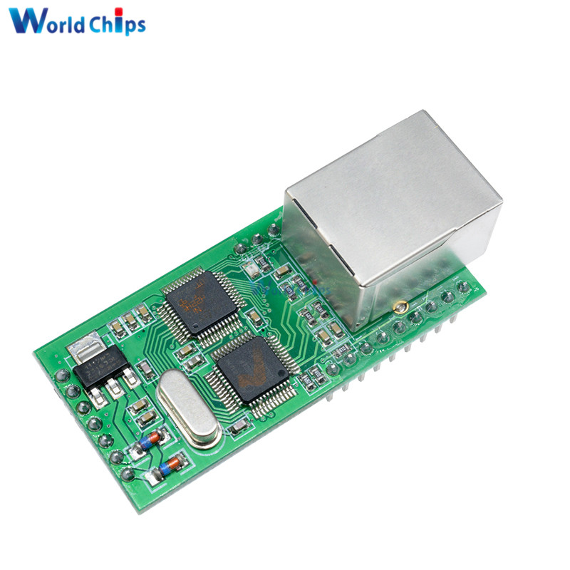 Top Ethernet to TTL RS232 Serial TTL to TCP / IP RJ45 Converter Transmission ModuleTop Ethernet to TTL RS232 Serial TTL to TCP / IP RJ45 Converter Transmission Module