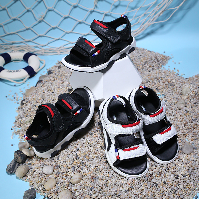 2018 dzieci letnie nowe buty dziecięce skórzane sandały cuhk - Obuwie dziecięce - Zdjęcie 5