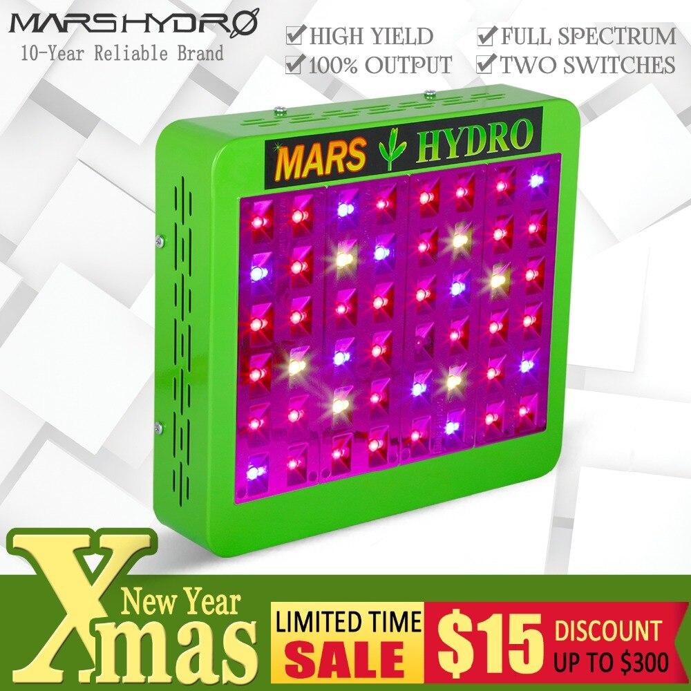 Marte Hydro Reflector 240 W LED crece la luz de espectro completo verduras/Bloom conmutable para todas las plantas de interior y flor creciente Phytolamp