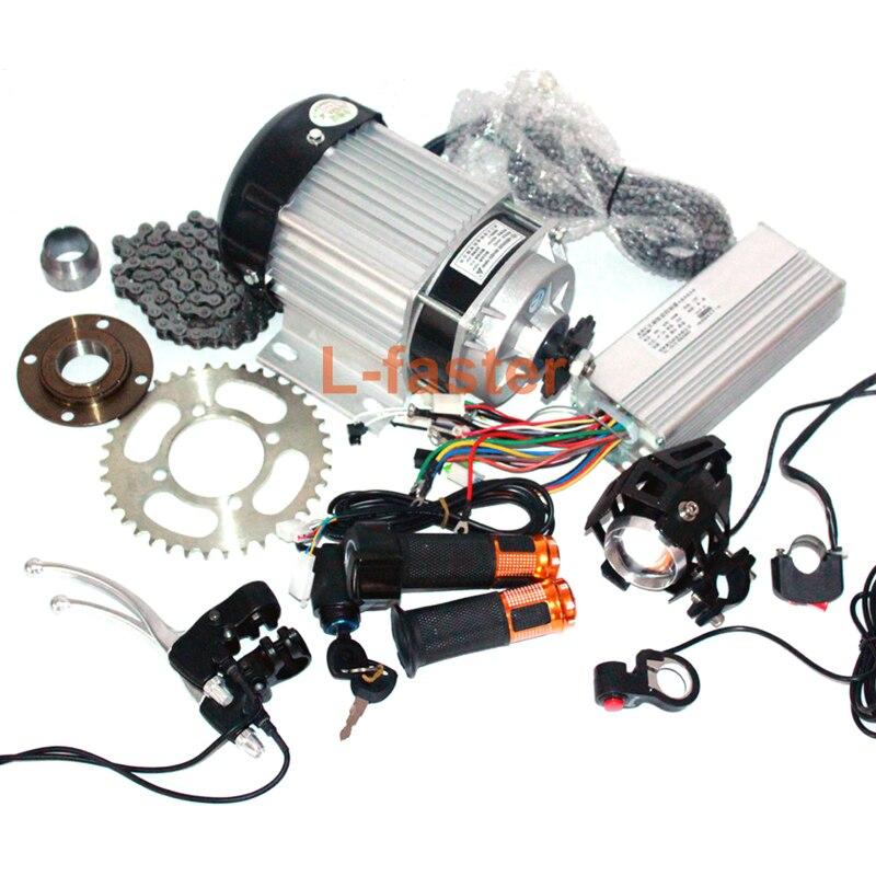 48V 500W ELECTRIC MOTORIZED BIKE ELECTRIC PEDICAB MOTOR KIT ELECTRIC 500W BRUSHLESS MOTOR KIT FOR TRIKE crash bar mt 09