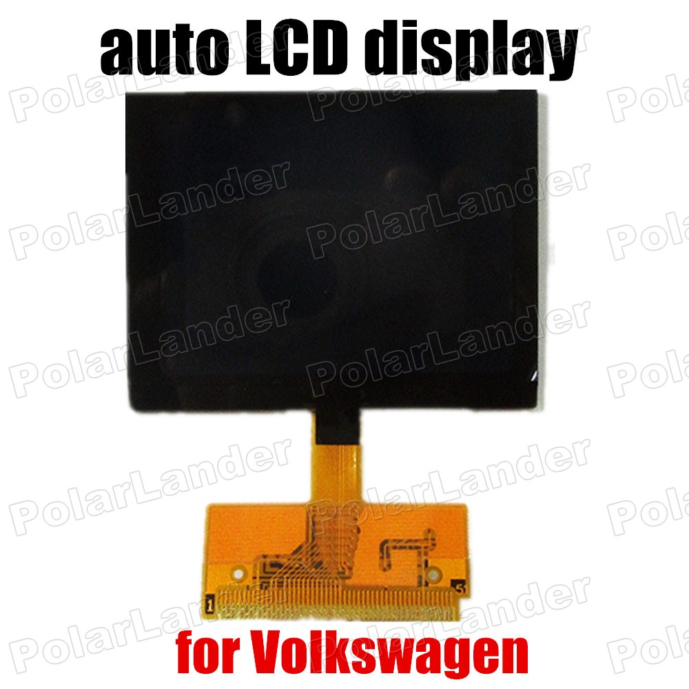 Nouveau type adapté pour Audi A3 A4 A6 pour VOLKSWAGEN LCD affichage Cluster VDO pour Audi VDO LCD affichage livraison gratuite