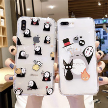 Cute Cartoon Phone case For iPhone XR X XS MAX Cover Soft TPU Silicone Transparent Back cases For iPhone 7 6 6s 8 Plus case цена
