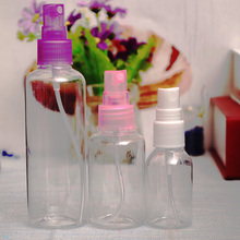 1 PCS Mini Small Empty Plastic Perfume Transparent Atomizer Spray Bottles Make up Make-up Cosmetic Sample Container