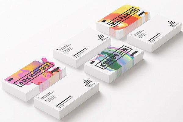 Meilleur Prix Grande Qualite Cartes De Visite Personnalise Design Carte 350gsm Colore Epais