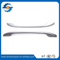 1 Pair aluminium alloy universal roof rack , universal suv luggage roof rail , universal hatchback car side rail bar