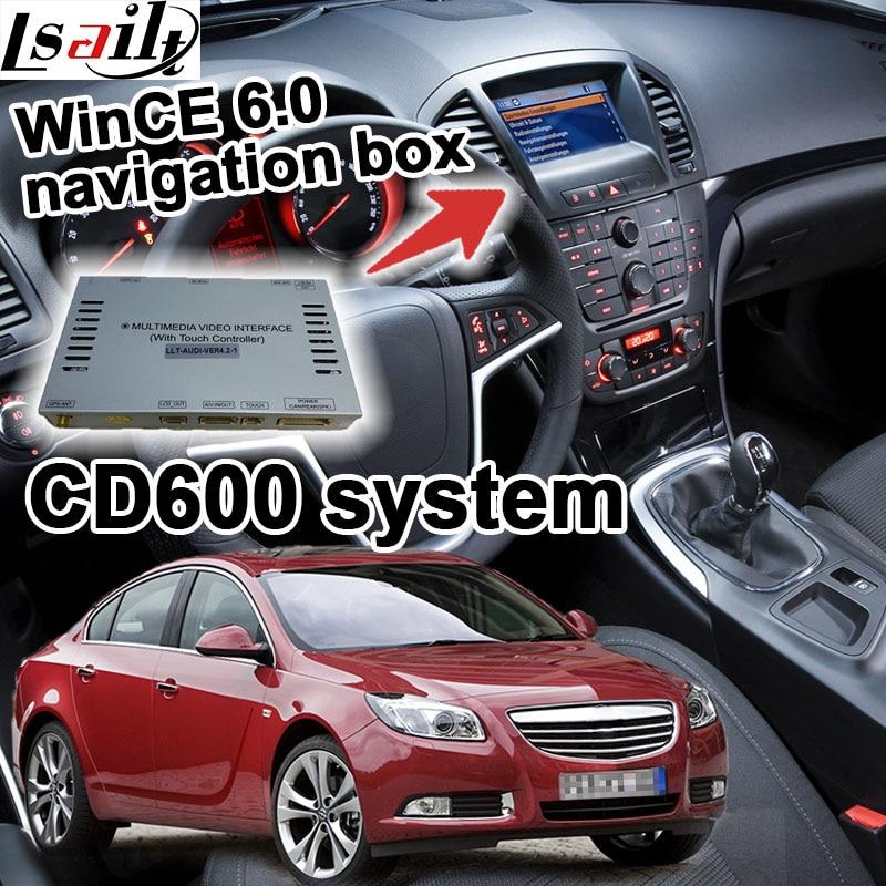 GPS navigation box for 2008 2014 Opel Insignia Astra Mokka CD600 video interface offline navi upgrade
