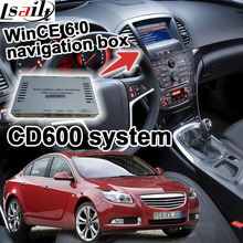 Cuadro de navegación GPS para 2008-2014 Opel Astra Mokka Insignia CD600 navi interfaz de vídeo en línea actualizar etc bluetooth Mueca de Dolor