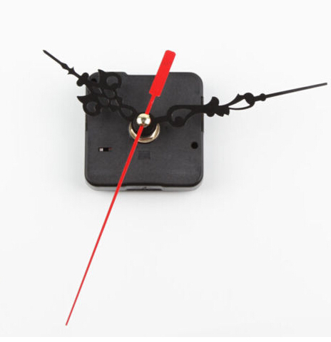 New 1Pc Black Stitch Movement Quartz Clock Movement Mechanism Repair DIY Tool Kit