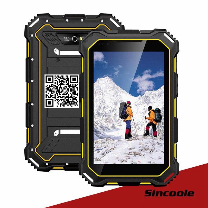 7 2GB RAM 16GB ROM Industrial Rugged Tablet PC MTK6735 4G LTE IP68 Waterproof Smartphone Shockproof OTG GPS Android 5.1 doogee shoot 1 2gb 16gb smartphone gray