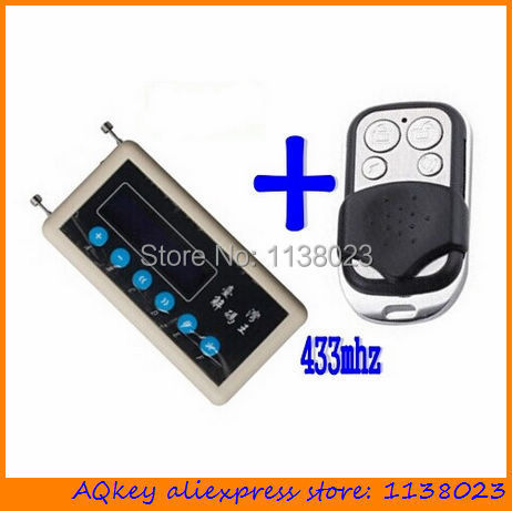 Aqkey Keyless Entry Remote Control Decoder 433mhz Remote Code Key